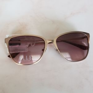 Elle Rose Gold Fashion Sunglassee